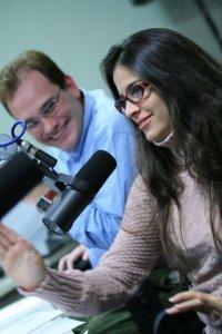 Beta e Victor na Rádio