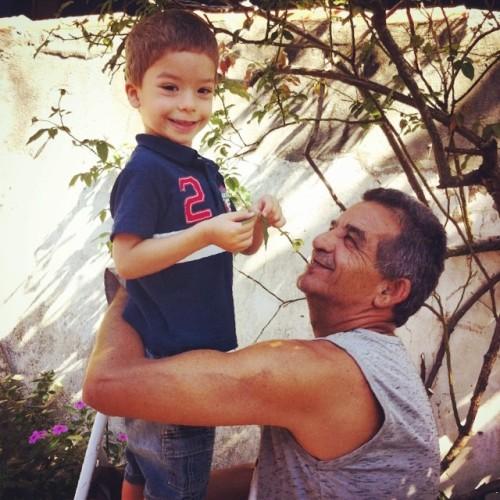 Papai e Arthur
